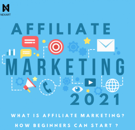 Affiliate marketing involves referring the product or service by sharing it on a blog, podcast, social media platforms, or websites.